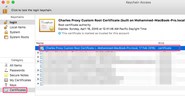Charles Proxy Apple TV iPhone SSL