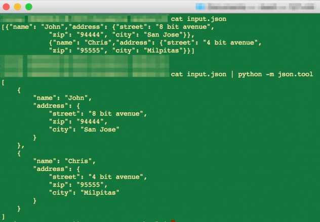 How to beautify and pretty print formatted JSON in Python